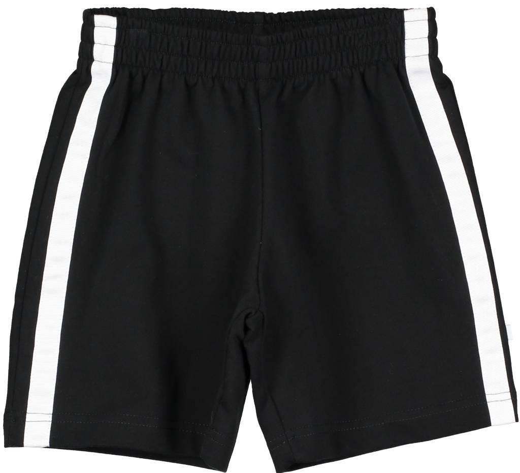 Shorts Black/White Stripe