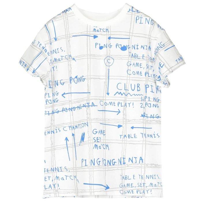 Short Sleeve Tshirt Game Plan Grey/Ink Blue