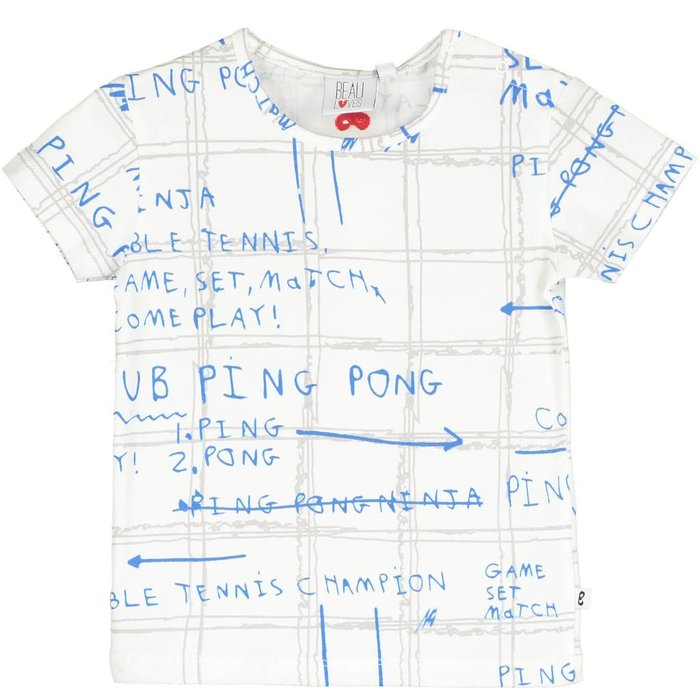 Baby Tshirt Game Plan Ecru