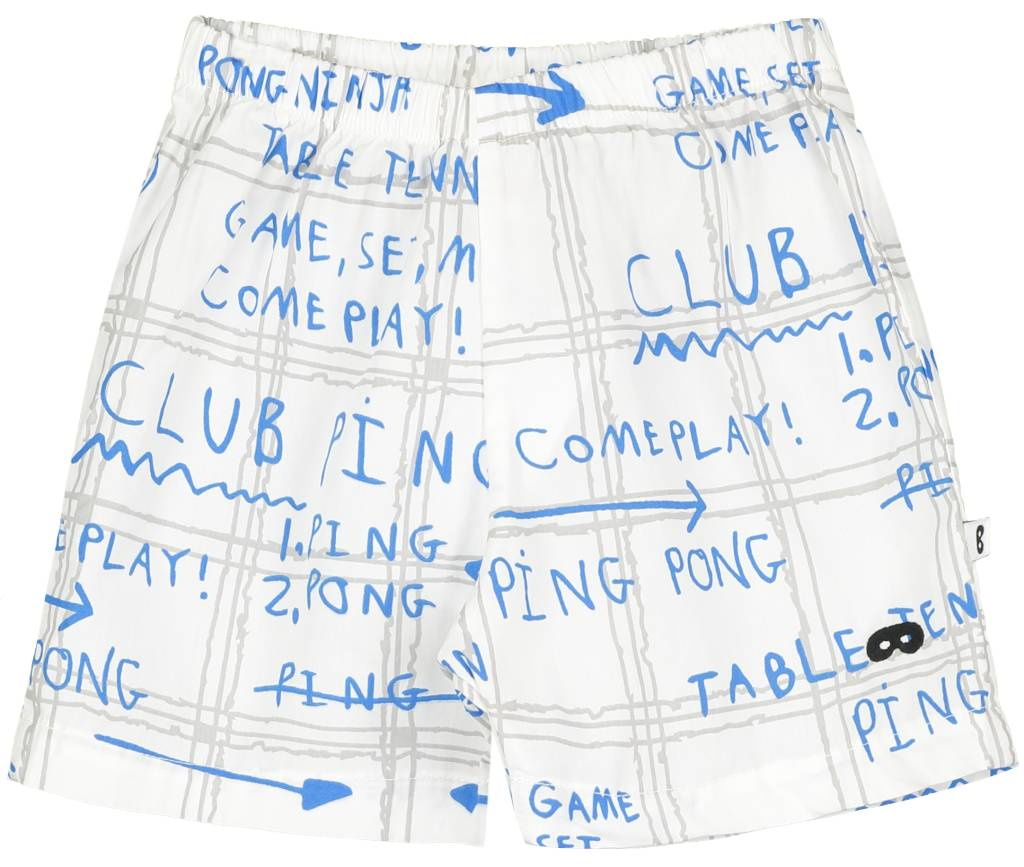 Baby Shorts Game Plan Ecru