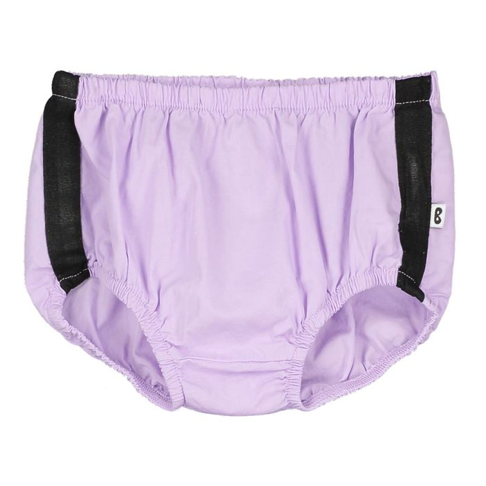 Baby Pants Black Stripe Violet