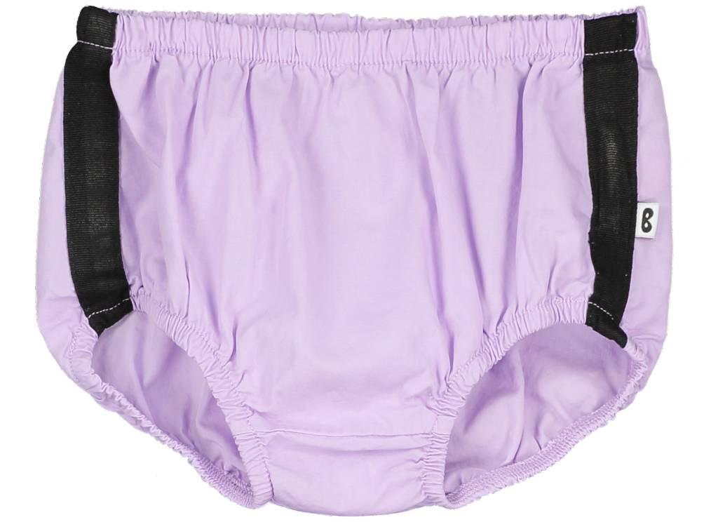 Baby Pants Black Stripe Violet
