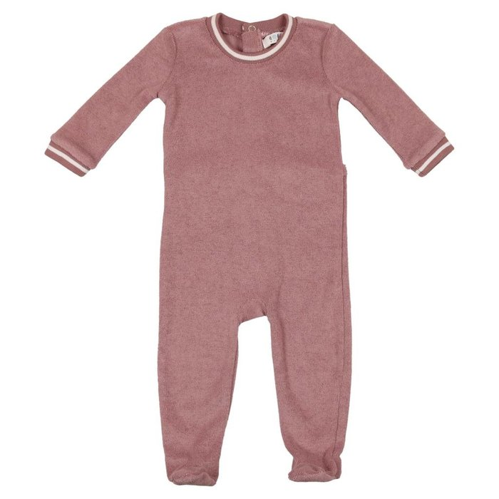 Terry Onesies Deep Rose