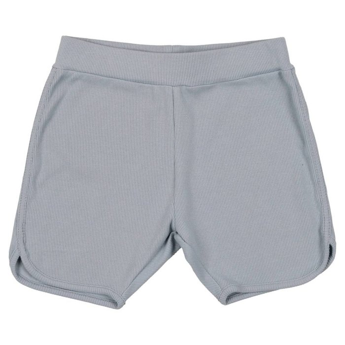Ribbed Shorts Ice Blue