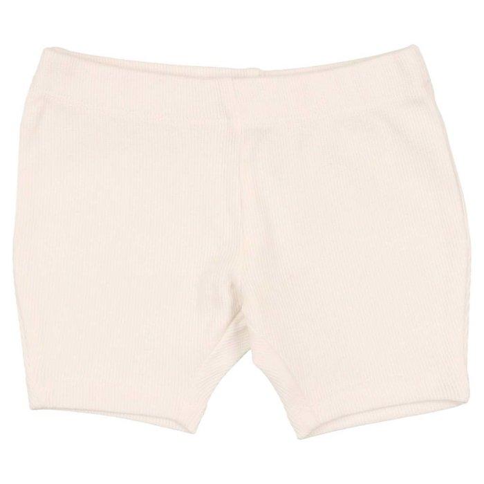 Biker Shorts White