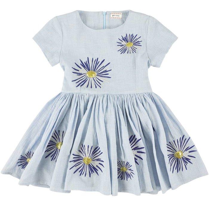 Jelsa Crepe Dress Sky