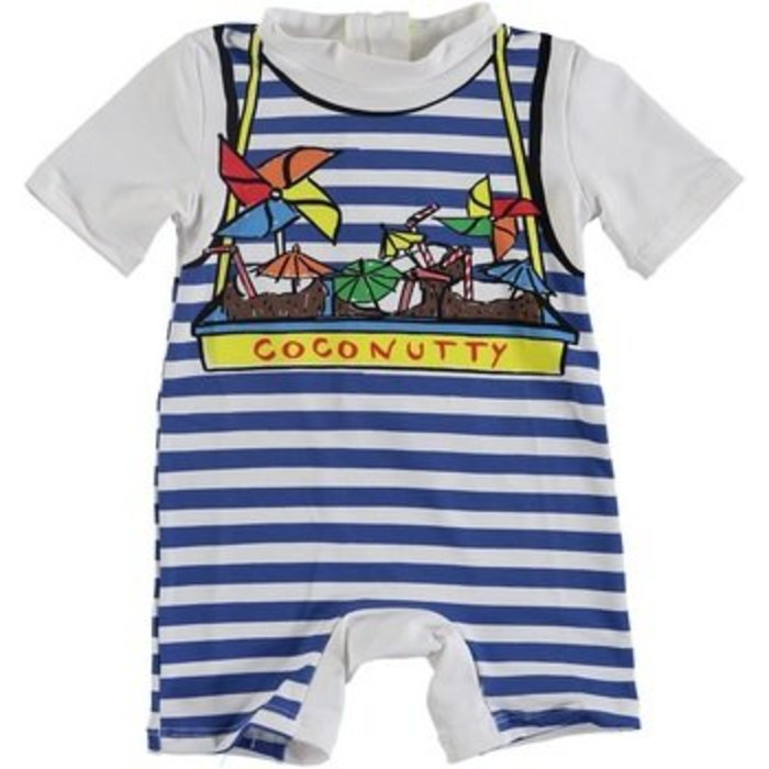 Coconutty Swimsuit Blue