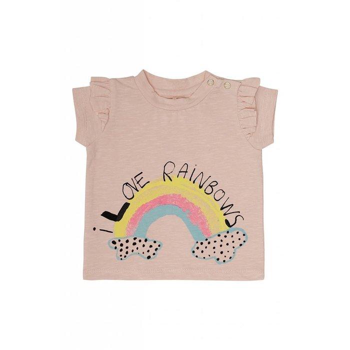 Sif Tshirt Chintz rose/Rainbow