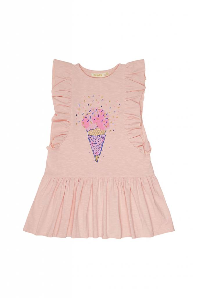 Alberte Dress Chintz Rose Gelato