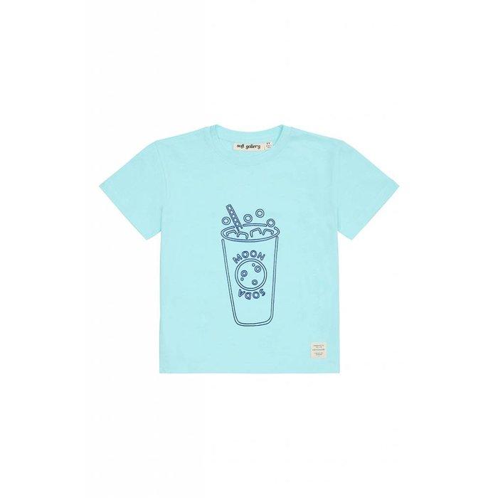 Asger Tshirt Blue tint/Bluesoda