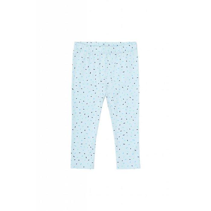 Baby Paula Leggings Corydalis blue/Drizzle