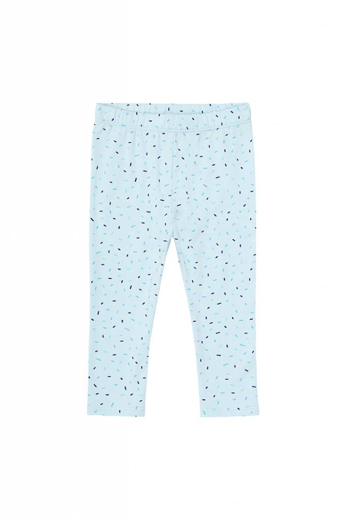 Baby Paula Leggings Corydalis blue/Drizzle