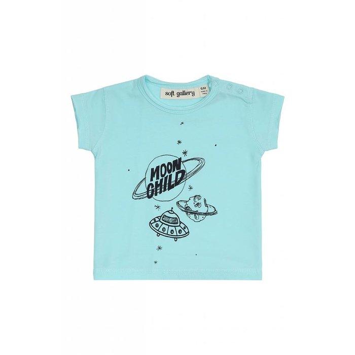 Baby Ashton Tshirt Blue Tint