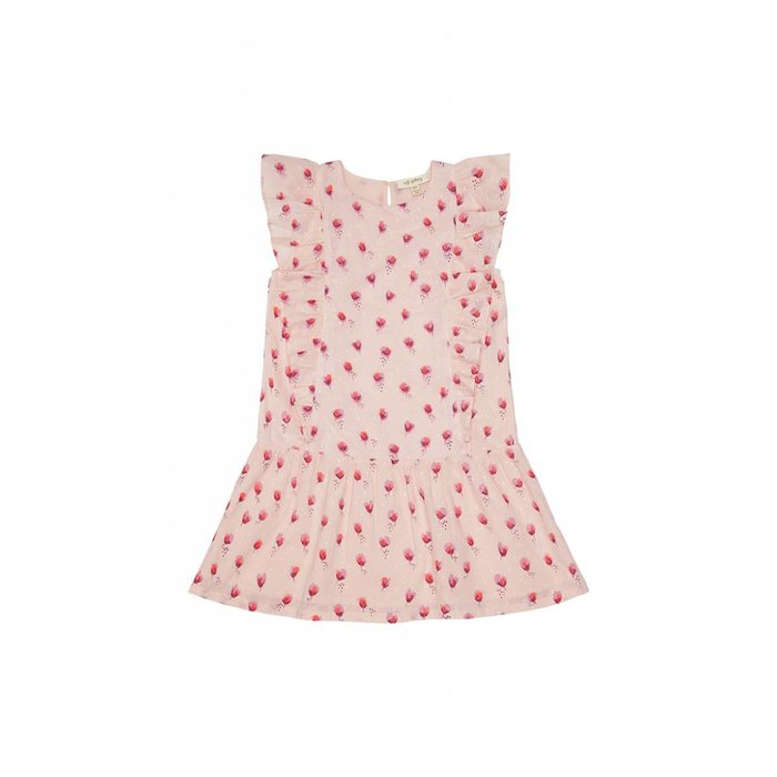 Avena Dress Pale Dogwood/Rosebud