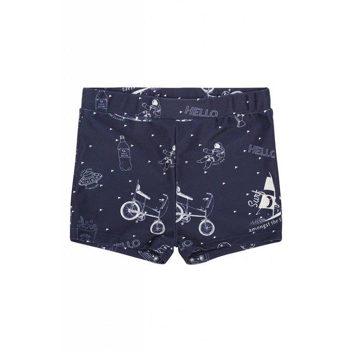 Don Swim Dress blues/Starsurfer