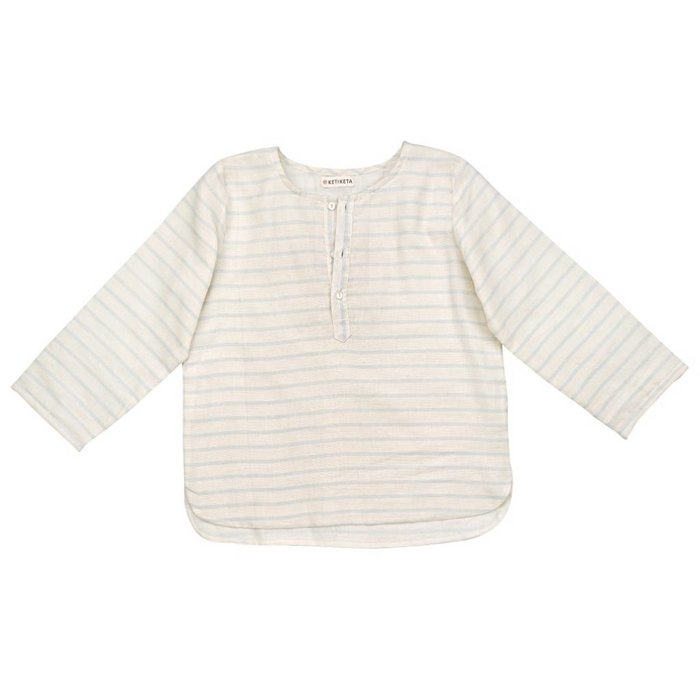 Thadee Shirt Stripes/Lavender blue