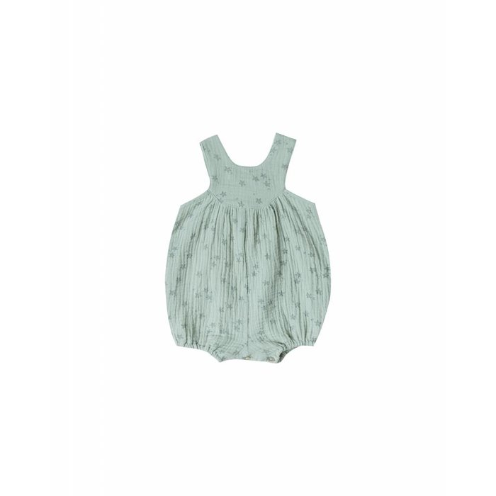 Starfish June Romper Seafoam
