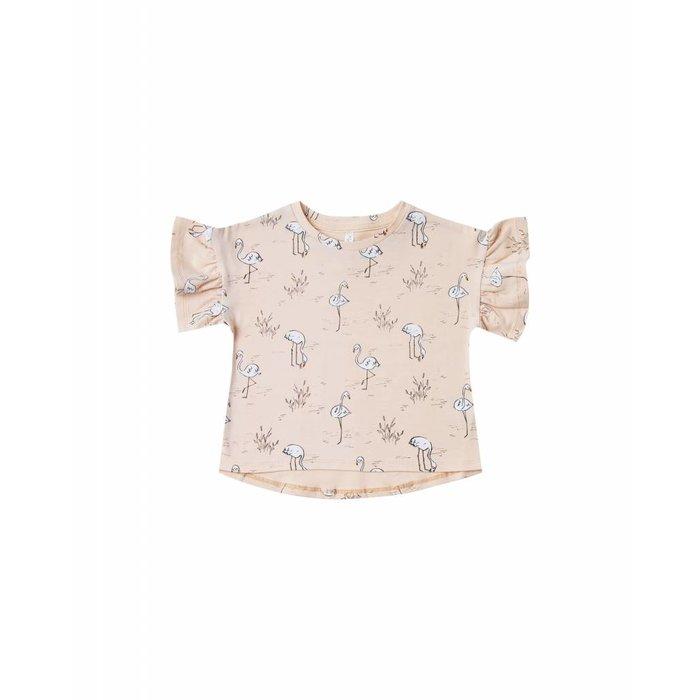Flamingo Flutter Tee Blush