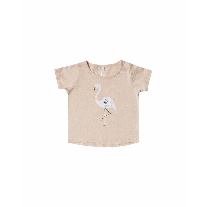 Flamingo Basic Tee Blush