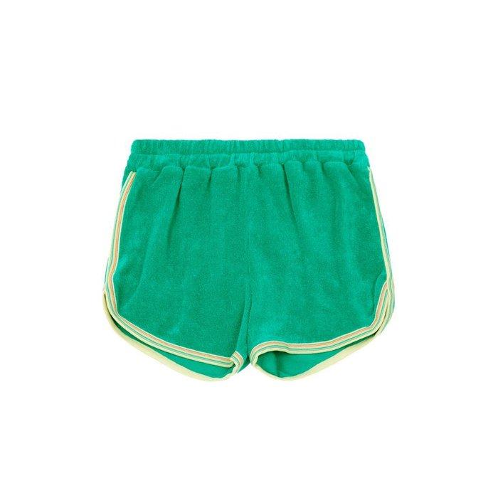 Sponge Shorts Emerald Green