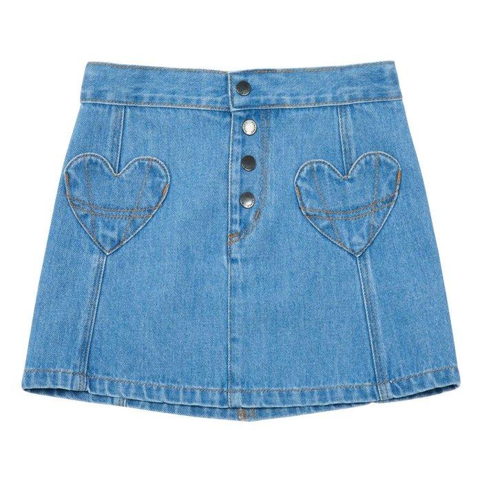 Jeans Skirt Vintage Blue Denim