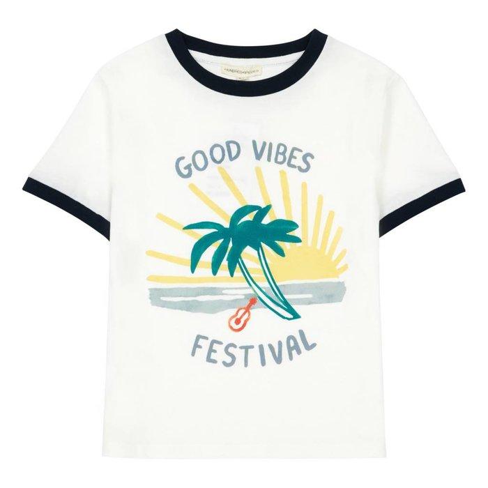 Good Vibes Tshirt Off White