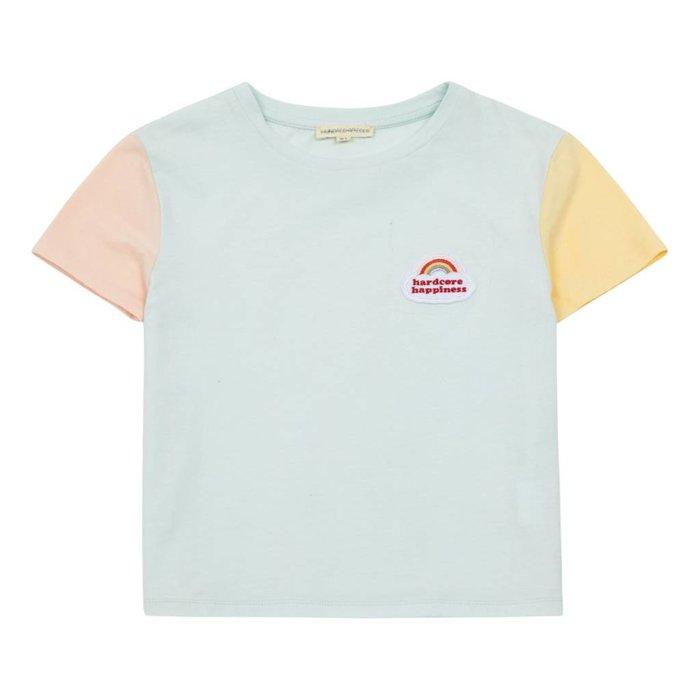 Color Block Tshirt Celadon