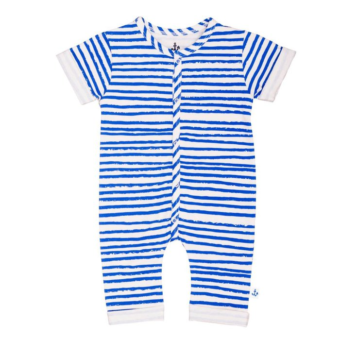 Overall Blue Stripes