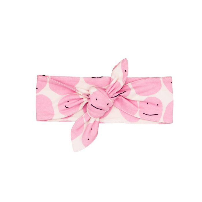 Headband Pink Smiley