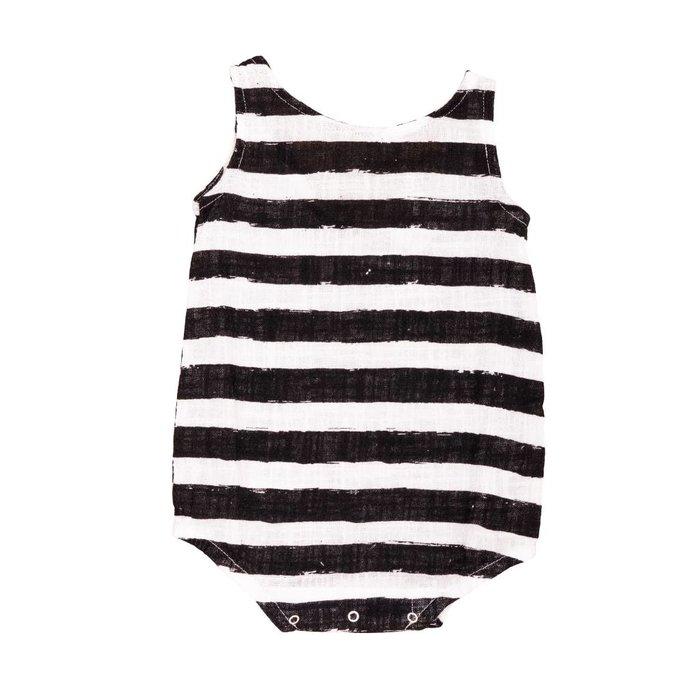 Romper Black Stripes