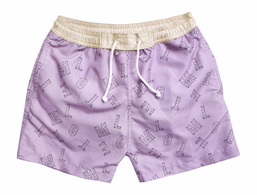 Swim Short Motel Dusty Violet