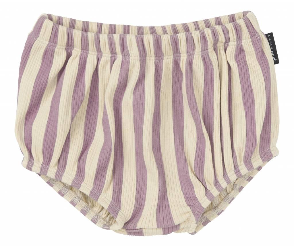 Bloomer Stripe Shell Dusty Violet