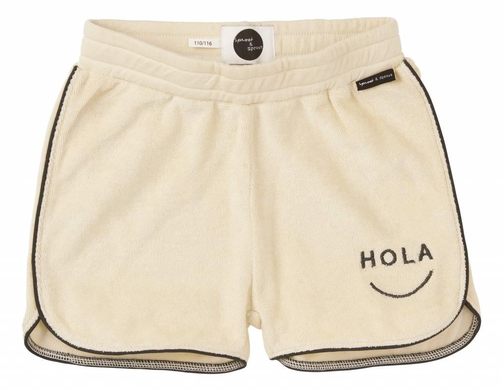 Sport Short Hola Adios Shell