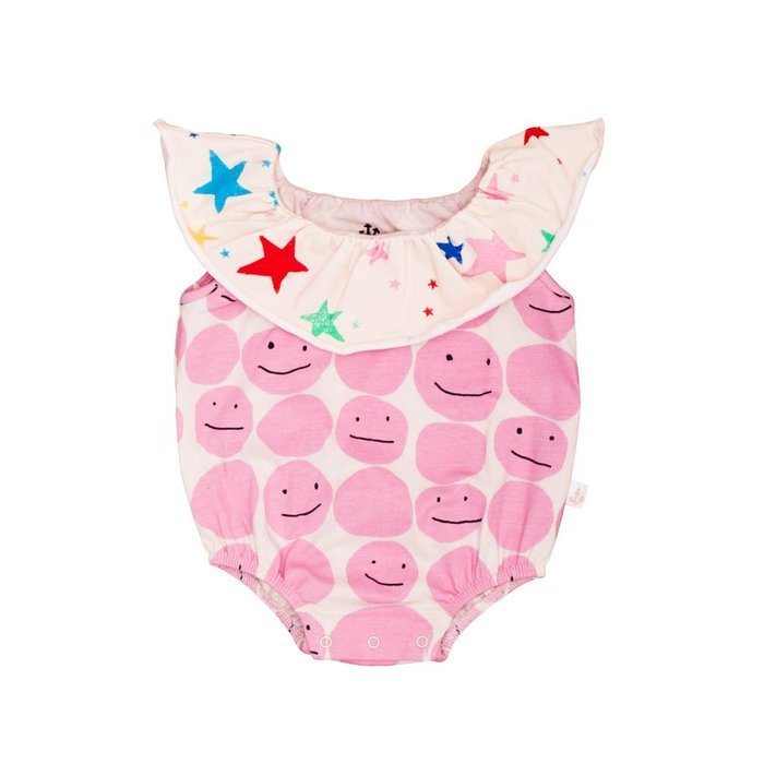 CollRomper Pink Smiley