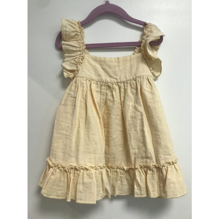 Pinafore Dress Vanilla