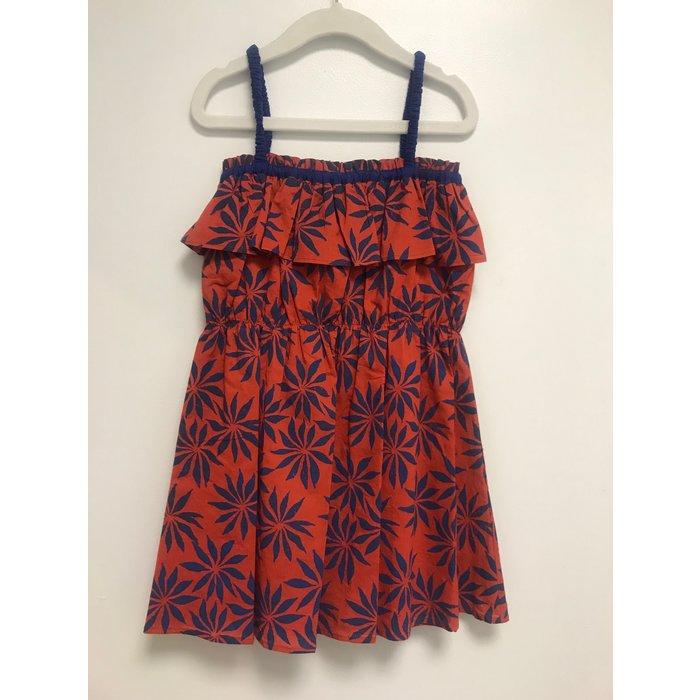 Ariel Dress Pozzuoli red/Flowers