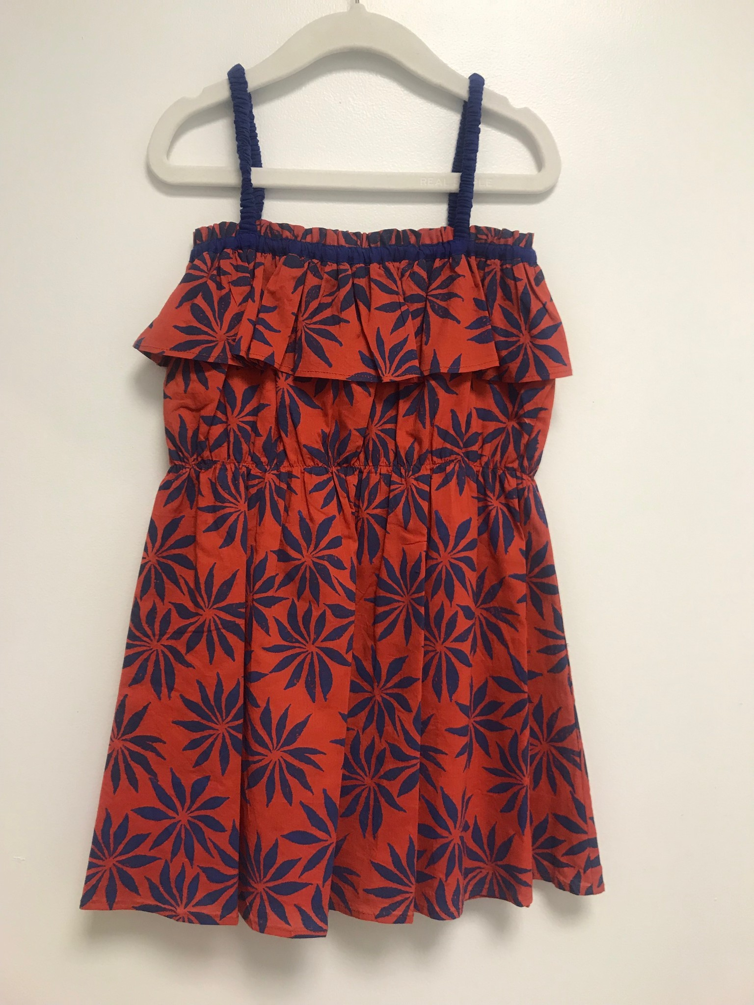 Ariel Dress Pozzuoli red/Flowers