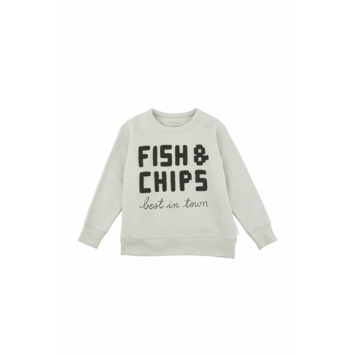 Fish and Chips Graphic Sweatshirt