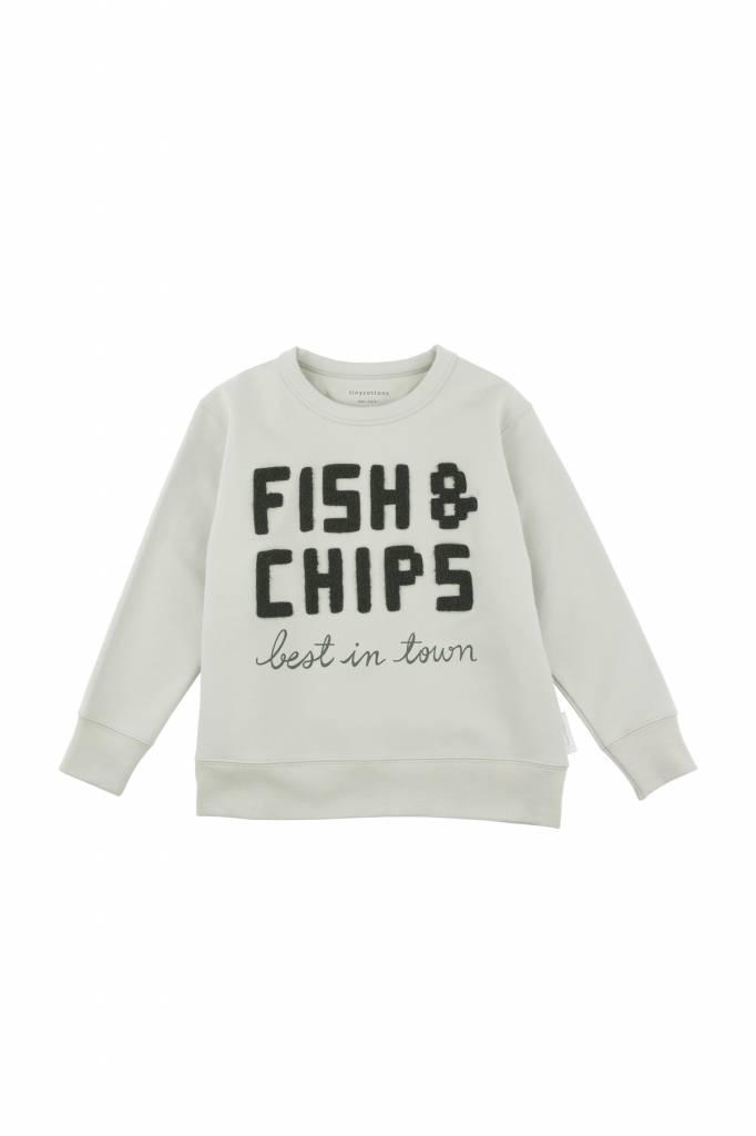 Fish and Chips Graphic Sweatshirt