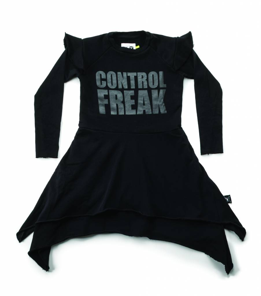 Control Freak Dress Black