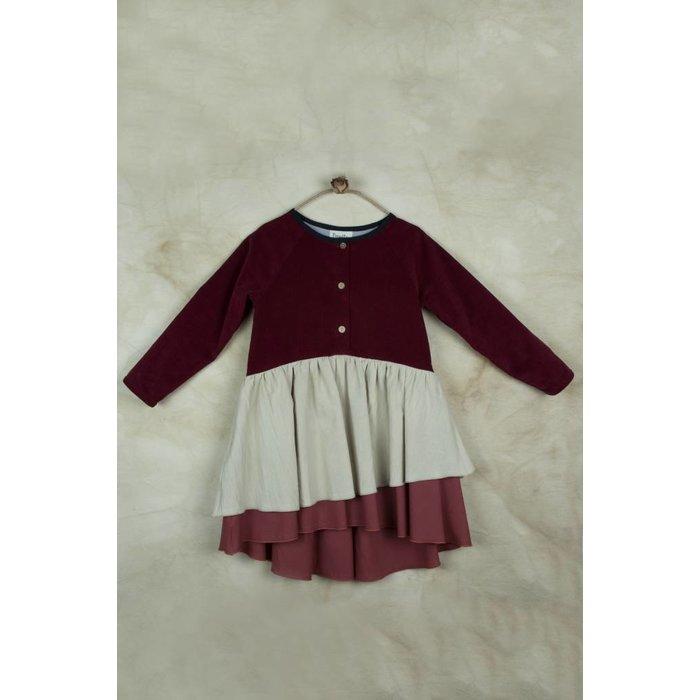 Dress with Raglan Sleeve
