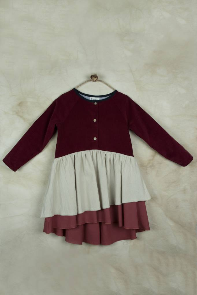Dress with Raglan Sleeve
