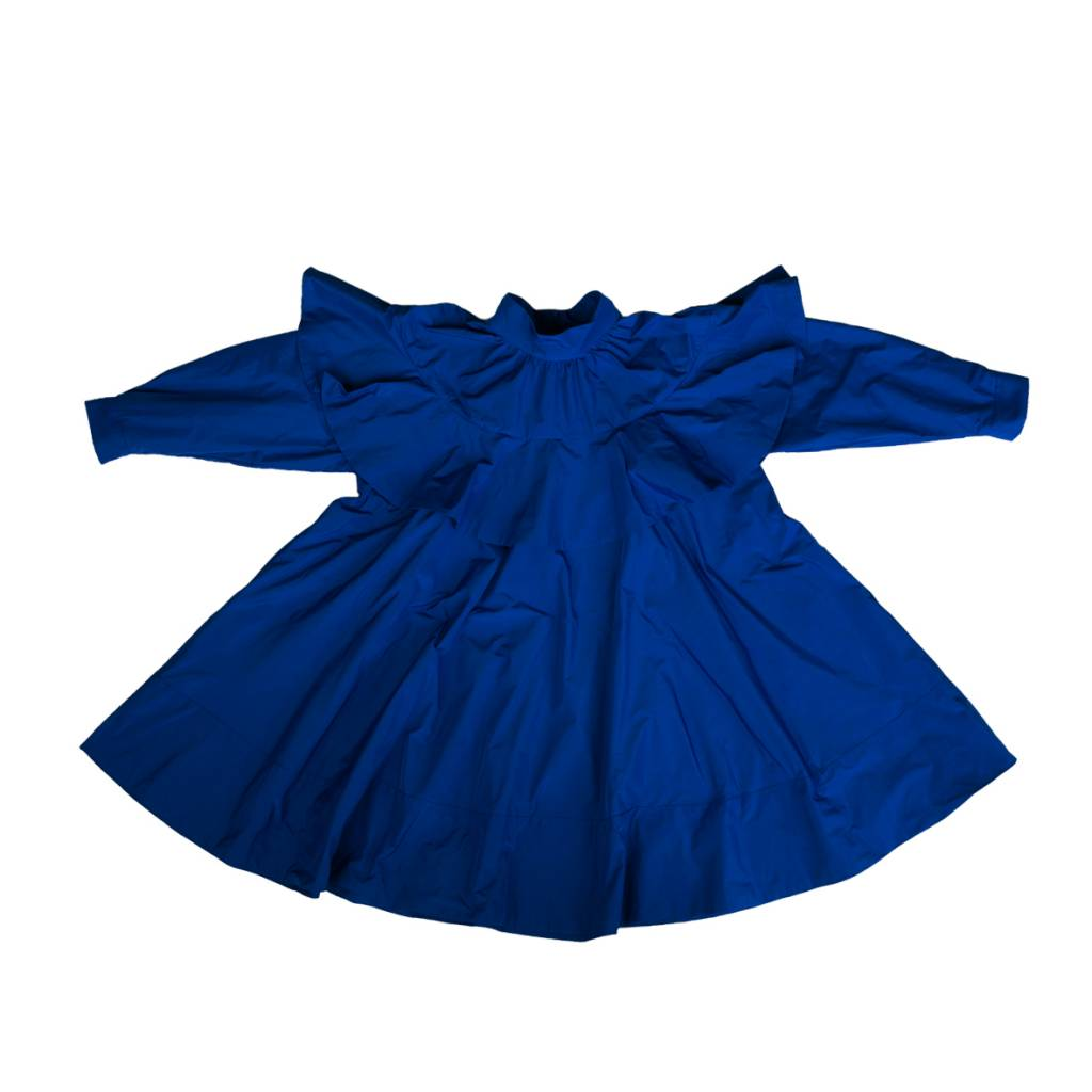 Blue Bubble Dress Blue