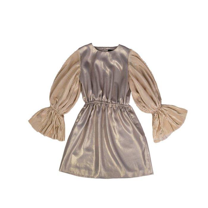 Gold Faustina Dress Gold