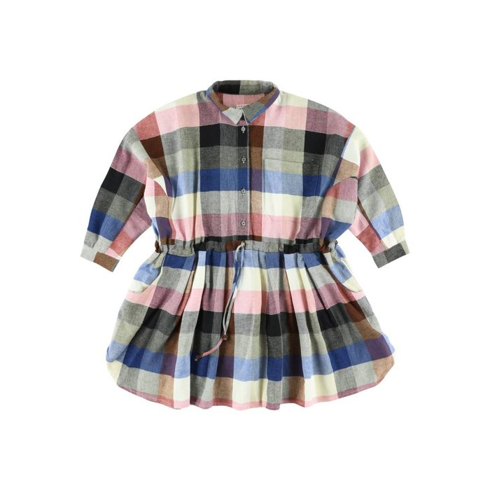 Izumi Kili Dress Bleu/rose