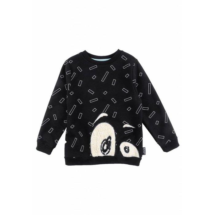 Gentle sweater Black/Aop