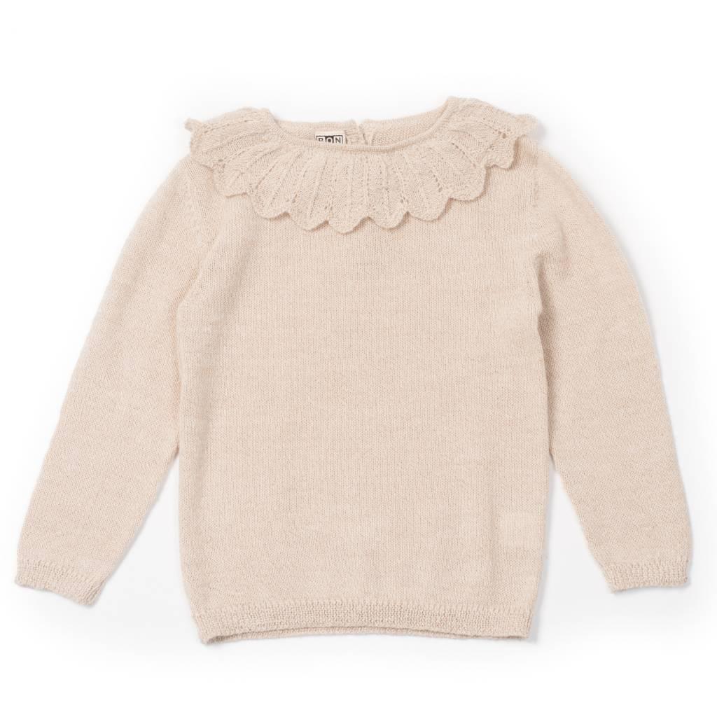 Sweater Arlequin Beige Chine