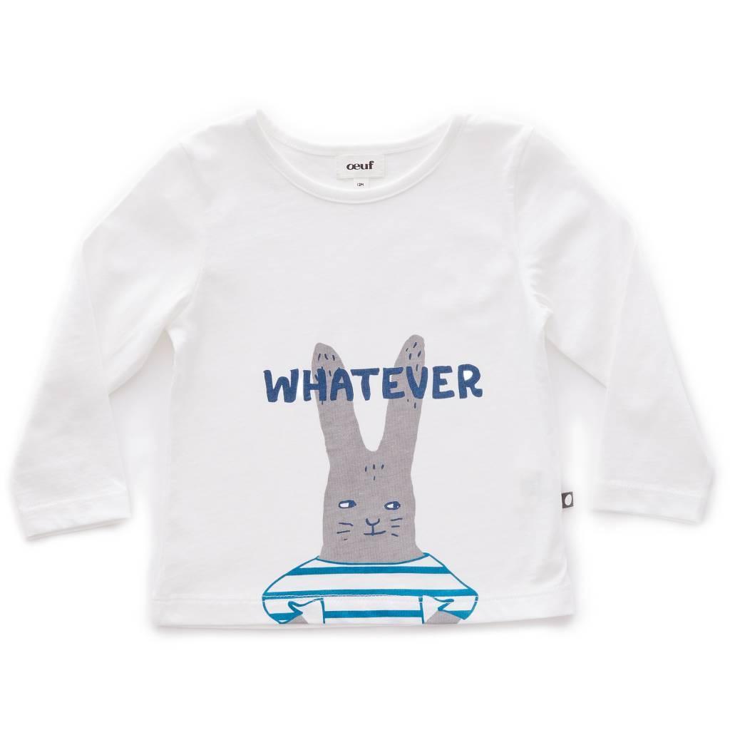 Tee Shirt Bunny/White