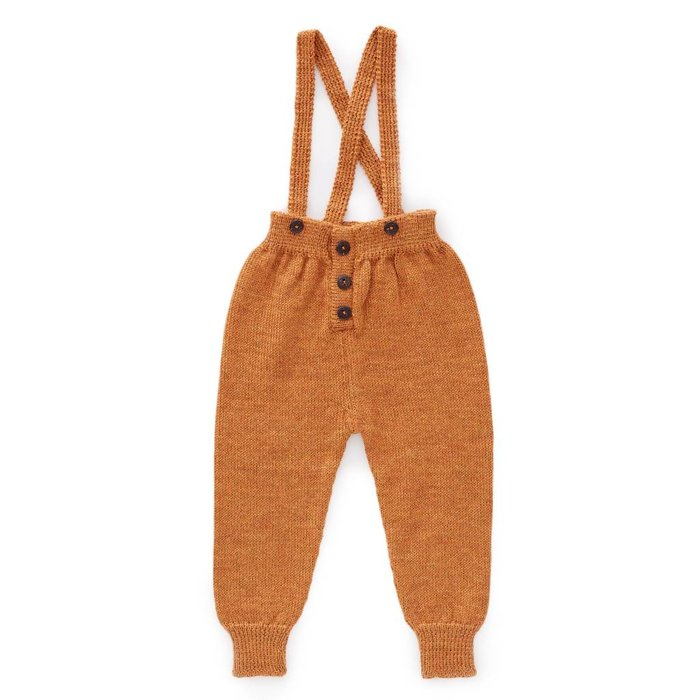 Suspender Pants Ochre