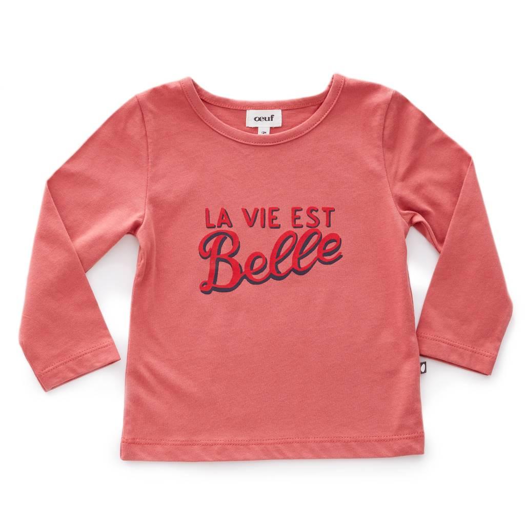 Tee Shirt Belle/Rose